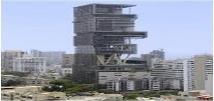 Antilia Private Super Luxury Residence Mumbai, India