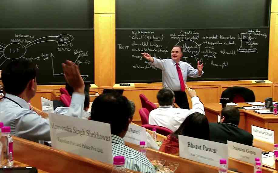 Harvard Classroom Design ~ Executive education center for harvard business school mumbai